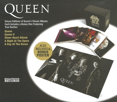 Queen - 40 Limited Edition Collectors Box Set, Vol. 1 (2011)