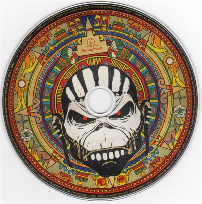 Iron Maiden - The Book Of Souls (2CD) (2015)