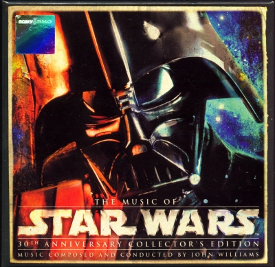 John Williams - The Music of Star Wars (30th Anniversary Collector's Edition Box Set) (8 CDs) (2007)